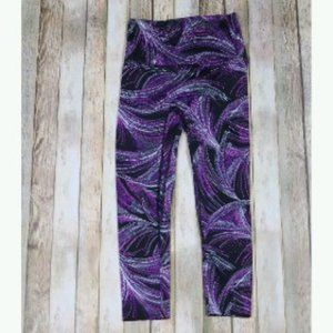 K-Deer Swirl Geo Capri Tights Yoga High Rise